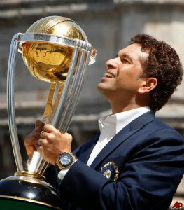 Sachin With World Cup