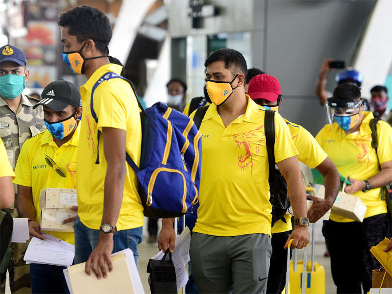 IPL 2020: Members of Chennai Superkings contingent test positive for Covid-19,  team goes into quarantine | Cricket News - Times of India