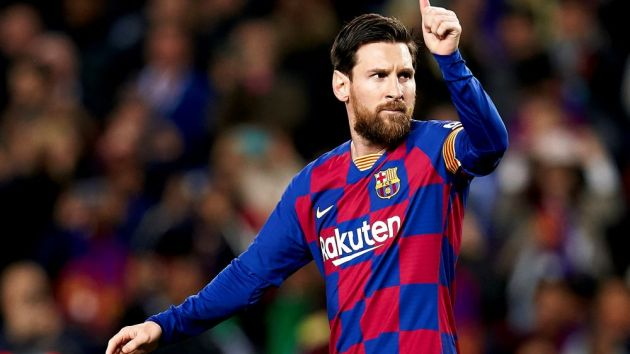 Lionel Messi landed for Barcelona for the first time after the controversy