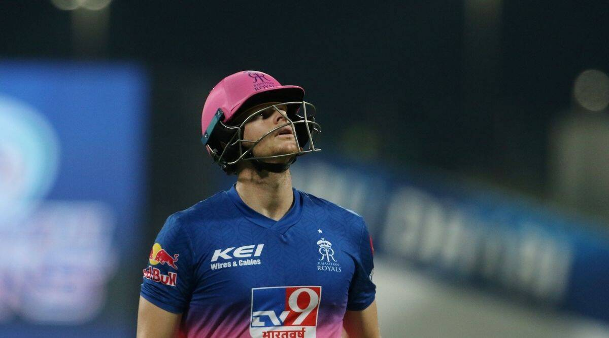 Steve Smith, RR, MI vs RR, IPL 2020