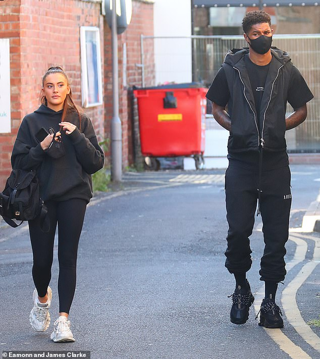 """utdreport on Twitter: """"Marcus Rashford and girlfriend Lucia Loi in Cheshire  on Sunday #mulive [© eamonn and james clarke, mail]… """""""