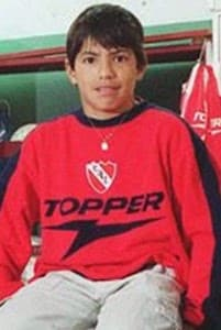 Sergio Aguero childhood photo