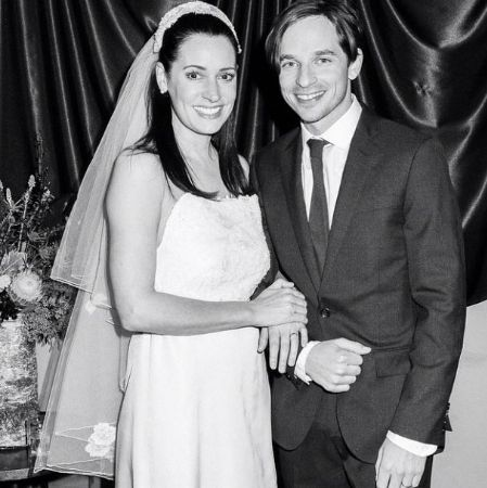 Beautiful Paget and Steve Damstra Wedding Photo