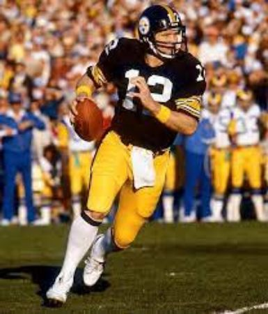 Terry Bradshaw during his professional football career