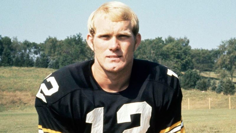 Terry Bradshaw during his early football career